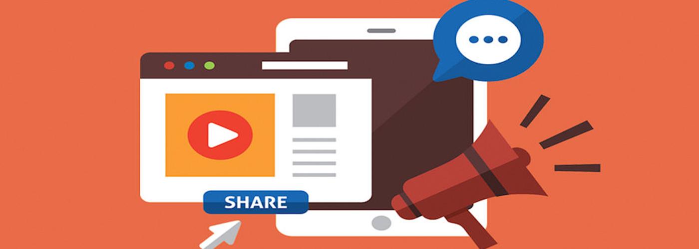 Banner video marketing